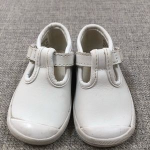 Keds white leather Mary Jane sneakers 3 M